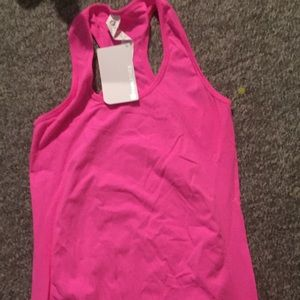 Fabletics pink tank top NWT